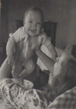 John as a baby