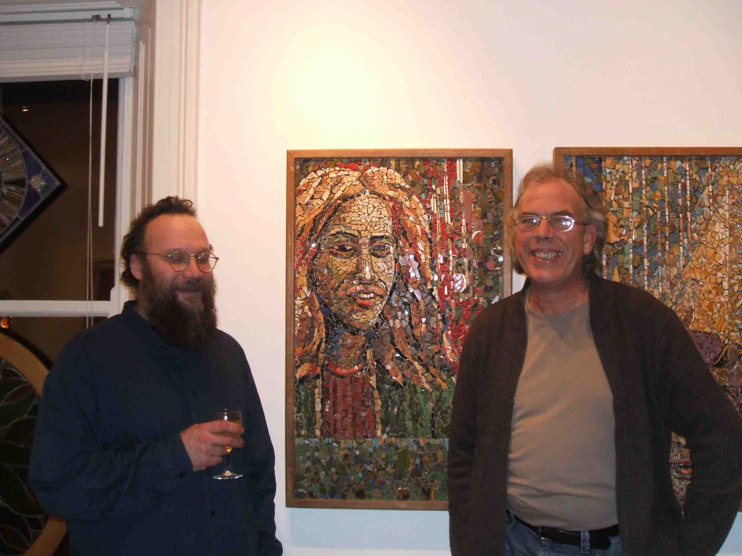 John with Johannes Steuck in 2007